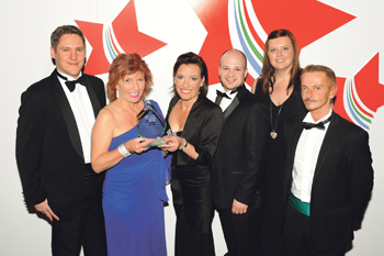 Jackloc Team crowned Leicestershire Small Business of the Year Award